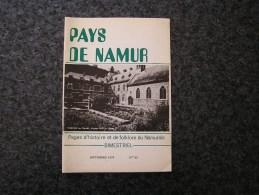 PAYS DE NAMUR Revue  N° 65  Régionalisme Cortège Historique La Plante Chapelle Marche Les Dames E Tonet Jetons Namurois - Culture