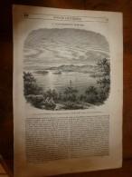1847 MP Le Lac De Trasimède Ou De Pérouse;Les Classes Pauvres Des Paysans En Egypte Et Labourage (avec Gravures) - 1800 - 1849