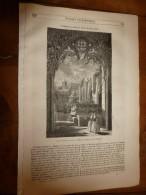 1847 MP Abbaye De Lapaïs (île De Chypre) La Fausse Ambition; Lois Des Naissances Et Mortalité...etc - 1800 - 1849