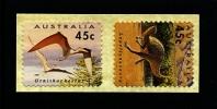 AUSTRALIA - 1993  PREHISTORIC ANIMALS  SELF ADHESIVE  SET MINT NH - Nuovi