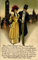 SUFFRAGE - SUFFRAGETTES - THE HOUSE THAT MAN BUILT #1 - REDUCED 65% - Satirical