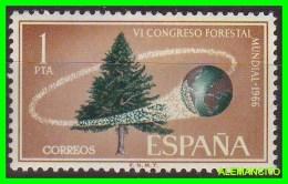 ESPAÑA -    SELLO  AÑO 1967  CONGRESO FORESTAL - 1961-70 Unused Stamps