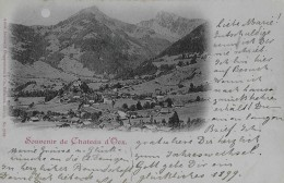 CHATEAU D´OEX → Souvenir De Chateau D'Oex 1898 - VD Vaud