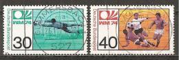 BRD 1974 + Michel 811/812 O !!! - Coppa Del Mondo