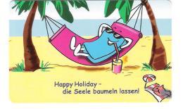 Germany - Deutschland - M 02/01 - Happy Holiday - Comic Chip Card - Deutschland