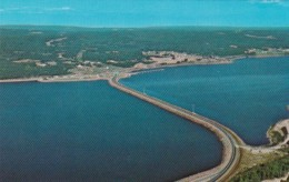 Canada Aerial View Of Canso Causeway Looking Towards Cape Breton Nova Scotia - Cape Breton