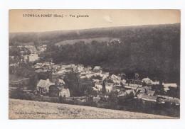 Lyons-la-Forêt, Vue Générale, 1918, éd. Souplet - Lyons-la-Forêt