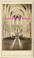 CDV  1872-intérieur Basilique Notre-Dame Du Rosaire De Lourdes--tournée Pastorale évêque De Tarbes-par Provost Toulouse - Old (before 1900)