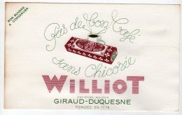 Mai16    74878     Buvard     Chicorée Williot - Café & Thé