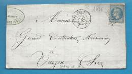 Saone Et Loire - GENELARD Pour VIERZON (Cher). GC + CàD Type 17 - Marcophilie (Lettres)