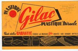 Mai16    74898     Buvard  Gilac  Plastic - Papeterie