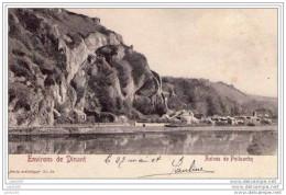 YVOIR ..--  Ruines De POILVACHE . 1904 Vers BOUILLON ( Melle Marie BRACONNIER ) . Voir Verso . - Yvoir