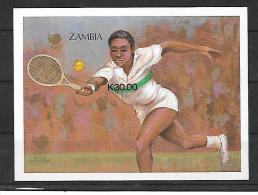 Zambie BF Tennis ND/imperf/B JO 88 ** - Ete 1988: Séoul