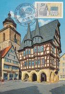 D23423 CARTE MAXIMUM CARD 1975 GERMANY - ALSFELD CITY HALL CP ORIGINAL - Architecture