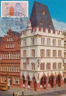 D23425 CARTE MAXIMUM CARD 1975 GERMANY - TYPICAL HOUSES TRIER CP ORIGINAL - Architecture
