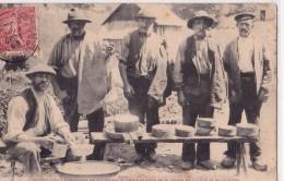LUCHON(65)1908-les Pyrénées-fabricants De Fromages Et Charbonniers De La Vallée De Luchon Et De Crouens - France