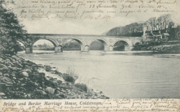 GB COLDSTREAM / Bridge And Border Marriage House / - Berwickshire