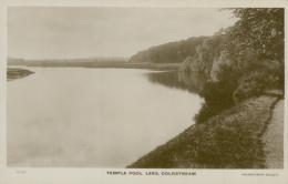 GB COLDSTREAM / Temple Pool, Lees / CARTE GLACEE - Berwickshire