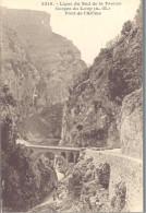 FRANCE --- CPA --- Ligne Du Sud De La France --- Les Gorges Du Loup ( A.-M. ) --- Pont De L´ Abîme - Francia