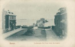 GB DOVER / Promenade Pier From Hotel Burlington / - Dover