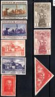 SPAIN 1930 Columbus 5 Values (postage) + 3 Values (Airmail) Mint - Unused Stamps