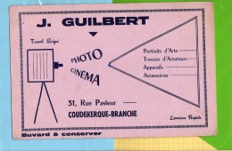 BUVARD :Photo Cinema J. GUILBERT  Coudekerque Branche - Cinéma & Theatre