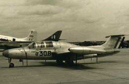 USA Avion D'Entrainement Militaire Morane-Saulnier MS.760 Paris Ancienne Photo 1960 - Aviation