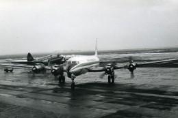 Aviation Avion De Ligne Transport Aérien Pan American Et Seaboard & Western Ancienne Photo 1960 - Aviation