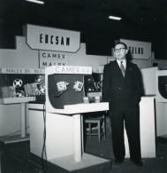 France Paris Salon Photo Ciné Son Stand Ercsam Camex Ancien Snapshot Amateur 1951