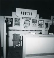 France Paris Salon Photo Ciné Son Stand Paul Montel Ancien Snapshot Amateur 1951 - Professions