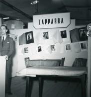 France Paris Salon Photo Ciné Son Stand Lapparra Ancien Snapshot Amateur 1951