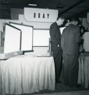 France Paris Salon Photo Ciné Son Stand Oray Ancien Snapshot Amateur 1951 - Professions