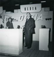 France Paris Salon Photo Ciné Son Stand Olbia Ancien Snapshot Amateur 1951