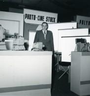 France Paris Salon Photo Ciné Son Stand Photo Cine Stock Ancien Snapshot Amateur 1951 - Professions
