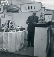 France Paris Salon Photo Ciné Son Stand Emel Ancien Snapshot Amateur 1951