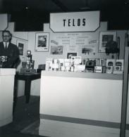 France Paris Salon Photo Ciné Son Stand TELOS Ancien Snapshot Amateur 1951