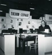 France Paris Salon Photo Ciné Son Stand TOCHON LEPAGE Ancien Snapshot Amateur 1951