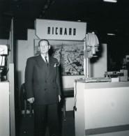 France Paris Salon Photo Ciné Son Stand RICHARD Ancien Snapshot Amateur 1951