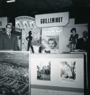 France Paris Salon Photo Ciné Son Stand Guilleminot Ancien Snapshot Amateur 1951 - Professions