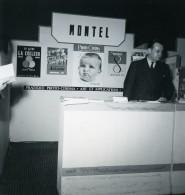 France Paris Salon Photo Ciné Son Stand Paul Montel Ancien Snapshot Amateur 1951