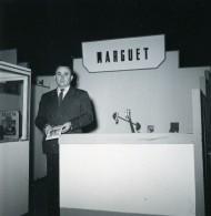 France Paris Salon Photo Ciné Son Stand Marguet Ancien Snapshot Amateur 1951 - Professions