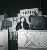 France Paris Salon Photo Ciné Son Stand Hortson Ancien Snapshot Amateur 1951