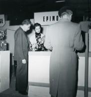 France Paris Salon Photo Ciné Son Stand Epimo Ancien Snapshot Amateur 1951