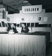 France Paris Salon Photo Ciné Son Stand Chojnow Ancien Snapshot Amateur 1951