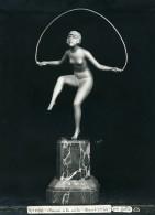 France Paris Art Deco Atelier Cadran Création De Gallo Danse A La Corde Ancienne Photo 1930 - Objects