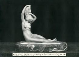 France Paris Art Deco Atelier Cadran Création De Trinque La Chevelure Ancienne Photo 1930 - Objects