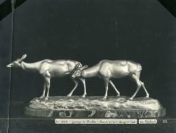 France Paris Art Deco Atelier Cadran Création De Irenée Rochard Biches Ancienne Photo 1930 - Objects