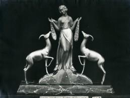 France Paris Art Deco Atelier Cadran Création De Gallo Groupe Confiance Ancienne Photo 1930 - Objects