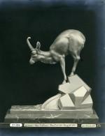 France Paris Art Deco Atelier Cadran Création De Laurent Groupe Sur L'Abime Ancienne Photo 1930 - Objects