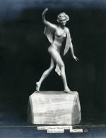 France Paris Art Deco Atelier Cadran Création De Varnier Danse Ancienne Photo 1930 - Objects
